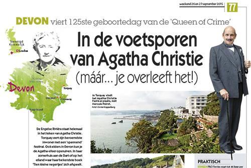 In de voetsporen van Agatha Christie