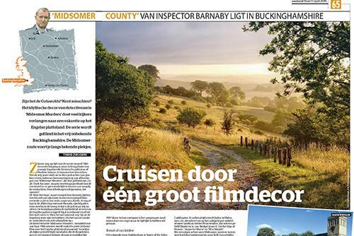 Artikel over de locaties van The Midsomer Murders