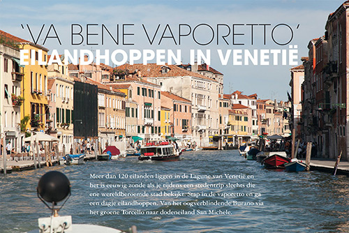Canal grande in Venetie