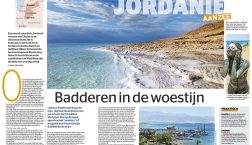 Jordanie: badderen in de woestijn